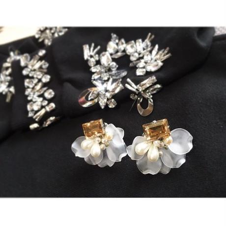 autumnflower earring