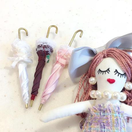人形用日傘 3本セット