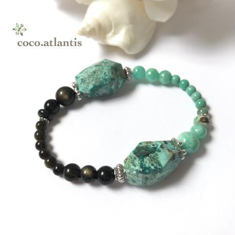*珪孔雀石〜emerald romance**