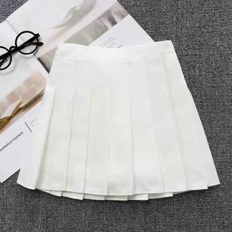 プリーツスカート(ホワイト)