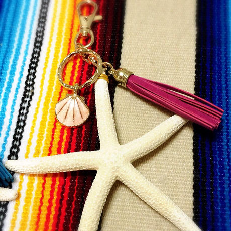 starfish bag charm