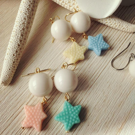 shell&starfish toy pierce