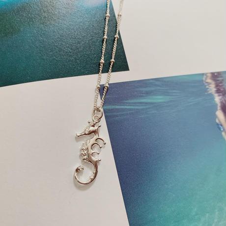 [Silver925] Sea horse Necklace