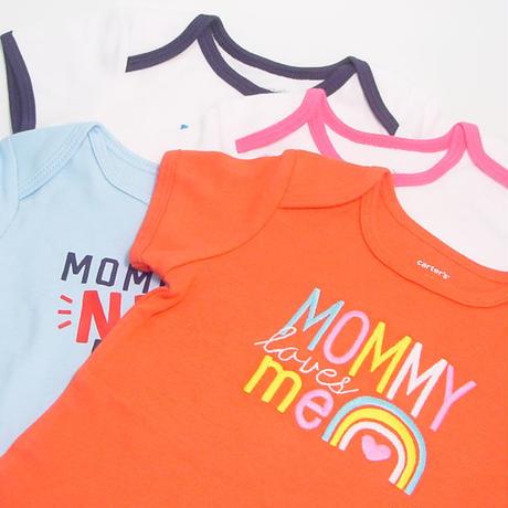 出産祝い/ママにやさしいハーブティーとカーターズなど豪華7点セット・リボンラッピング付き(男の子用)
