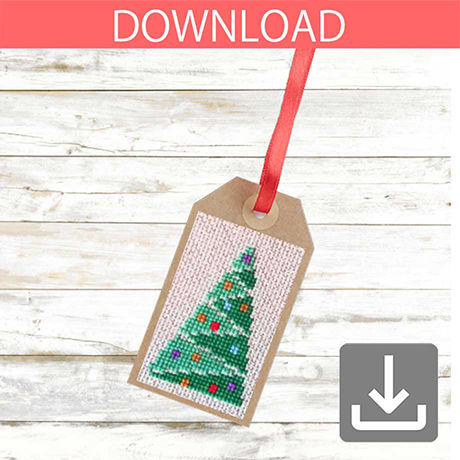 Christmas tree #4 | Cross stitch pattern