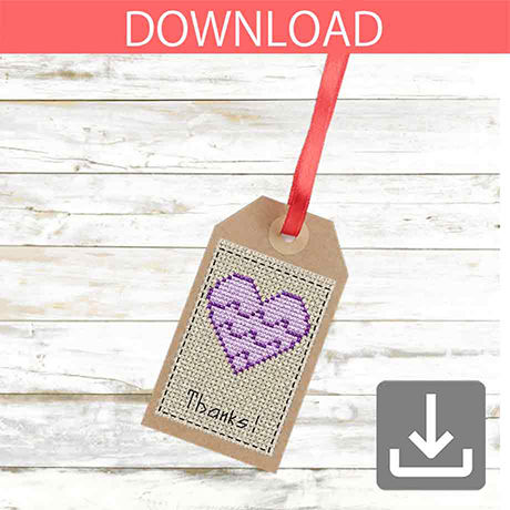 Heart #6 | Cross stitch pattern
