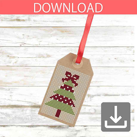 Christmas tree #9 | Cross stitch pattern