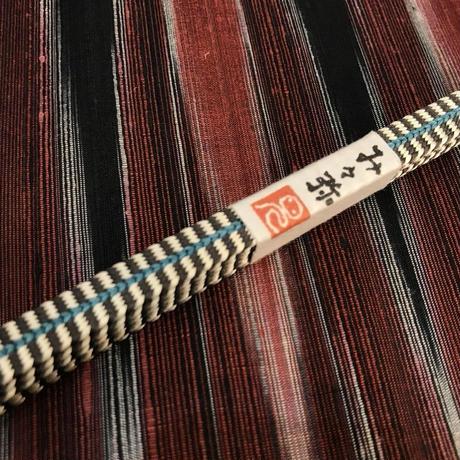 み々弥・手組の三分紐「墨ボーダー」