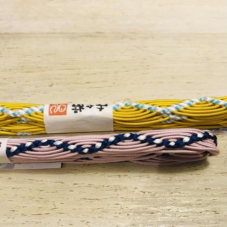 み々弥・三分紐「naminami」藤と白紺
