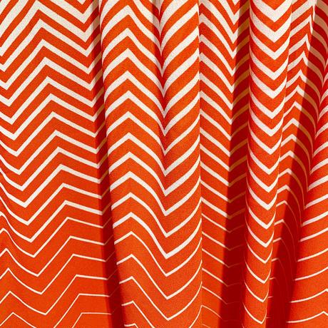ウェイビーボーダー・スカート(1970s Italy デッドストック)