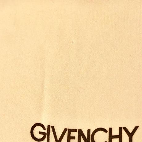 """GIVENCHY""モノグラムSILKジョーゼットスカーフ(1970s France)"