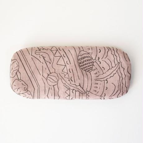 EYE PILLOW -pink seed-  [ 100%organic cotton ]