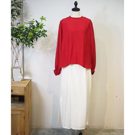 suzukitakayuki/bouffant-sleeve blouse/S191-05