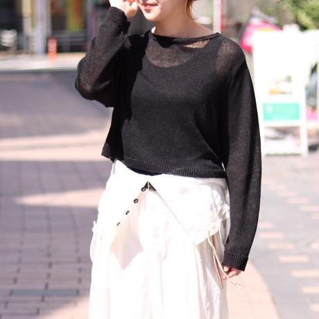 suzuki takayuki/knitted pullover/S191-24