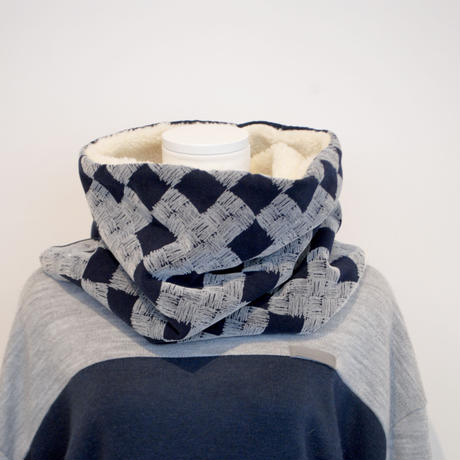 "rikolekt/""frosty""snood ( navy)"