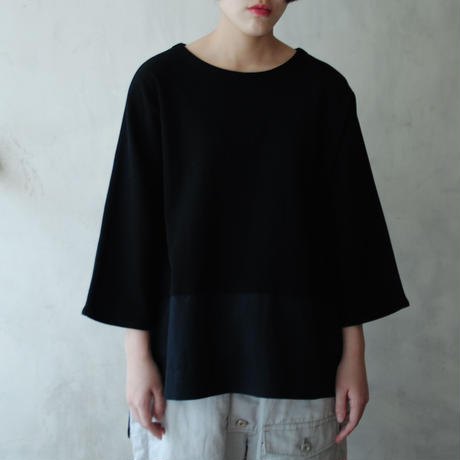 Hiroyuki Watanabe/ソメカオルプルオーバー(black)