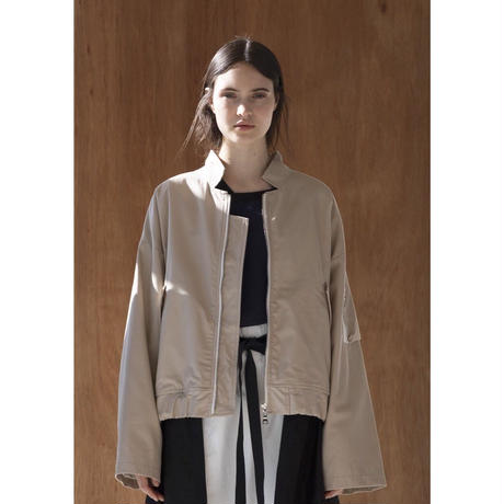 ANITYA/Flight jacket(beige・SIZE 1.2.3)