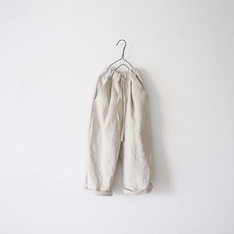 linen  setup/tuck pants