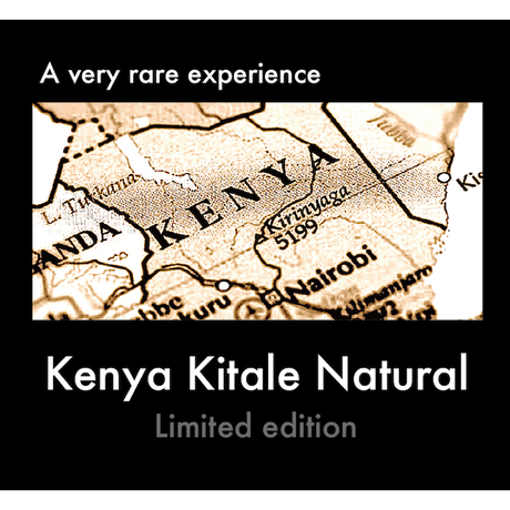 Kenya Kitale Natural / ケニア キタレ ナチュラル 200g  ☆限定販売