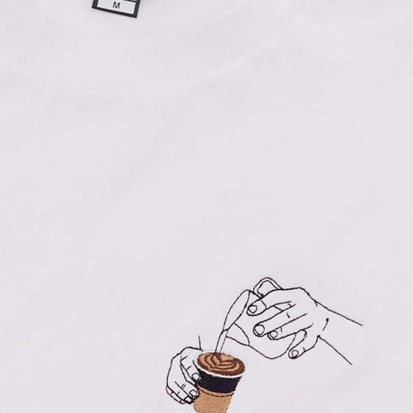 Allpress x Percival - Latte Art Tシャツ