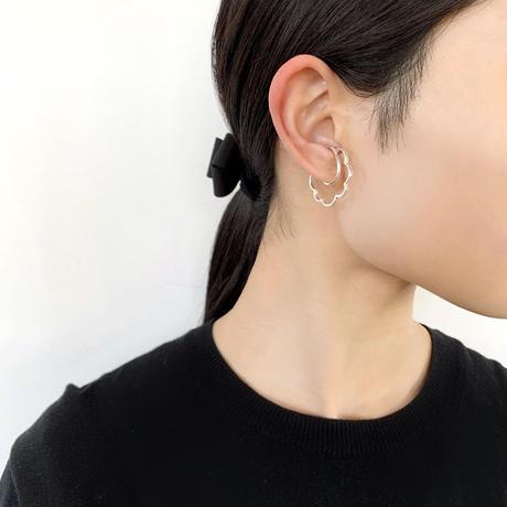 ミモザ イヤーカフ(M)/ペア/シルバー/KAORU
