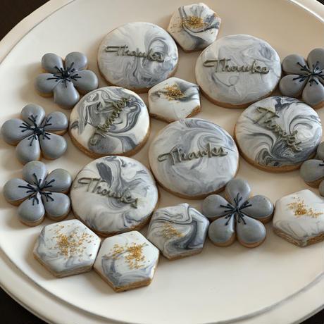 ありがとう サンキュー  ギフト アイシングクッキー