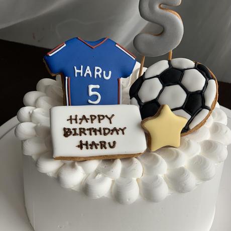サッカー プレゼント お誕生日に アイシングクッキー