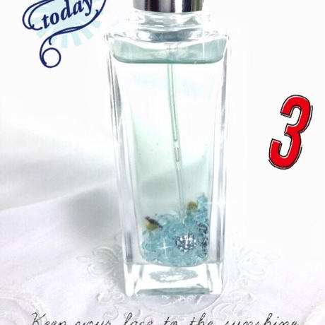 3月誕生石入りメモリーオイルスプレー「不倫恋愛の良い変化と癒し・守護」