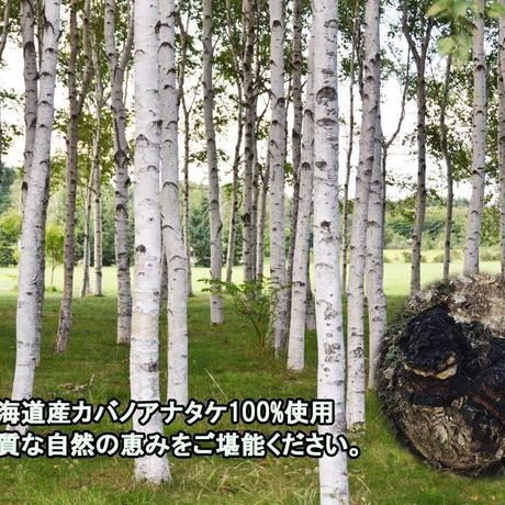 北海道産 カバタケ茶 100g入り粒形1.5~2㎜ ティーバッグ付き