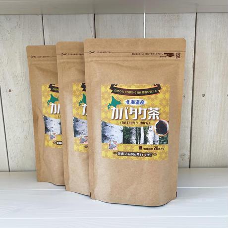 【定期便】北海道産 カバタケ茶 鍋抽出用 ティーバッグ28包入り