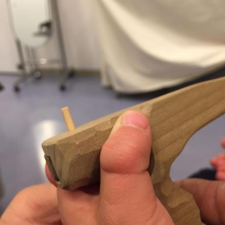 たがための箸 制作事例⑥【先天性水頭症 /男子・左手用】