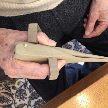 たがための箸 制作事例⑦【 頚椎損傷/男性・右手用 】