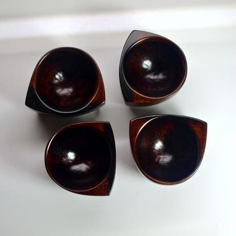 黒柿のぐい呑