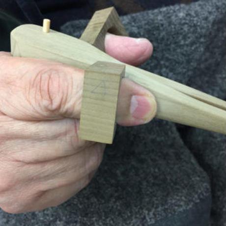 たがための箸 制作事例④【脊髄小脳変性症 /男性・右手用】