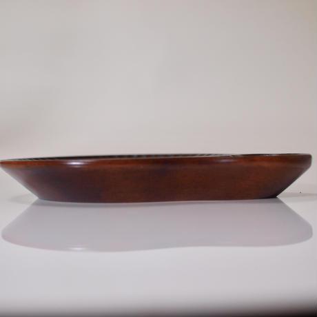二結皿「円」
