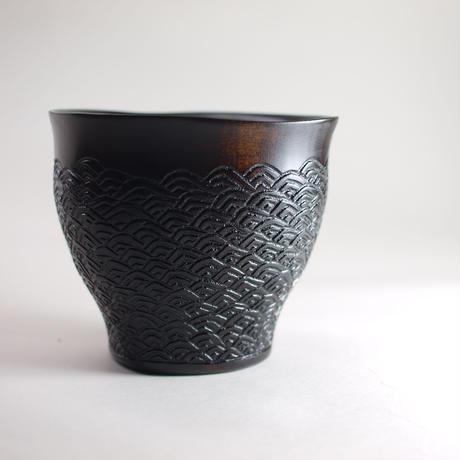 フリーカップ〈青海波〉