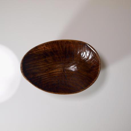 桑の楕円鉢