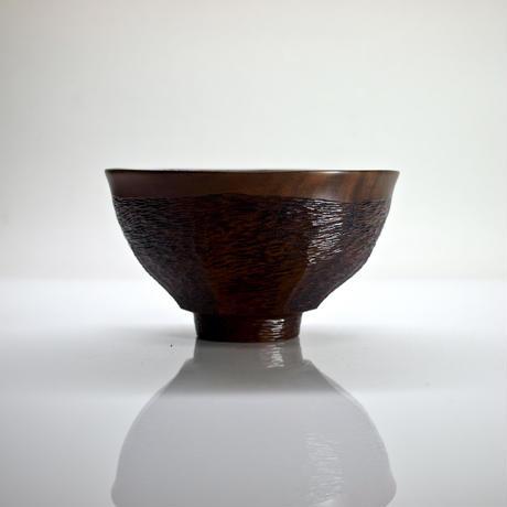 天目形茶椀「双魚の交わり」