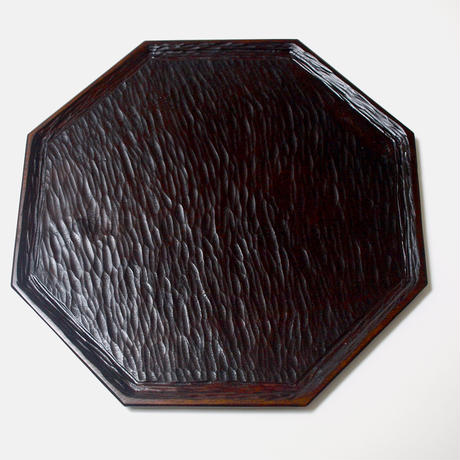 一尺の八角盆