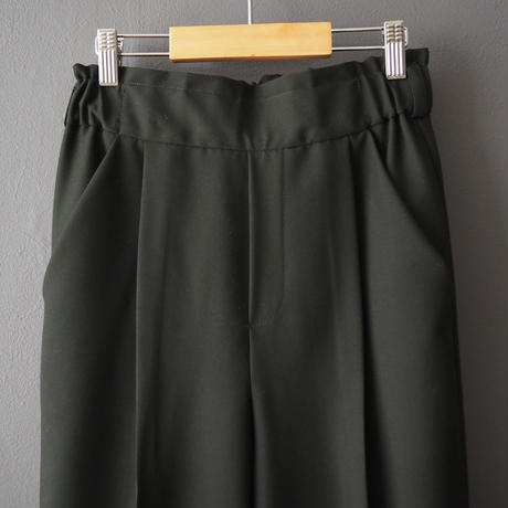 high-waisted  pants  GREEN