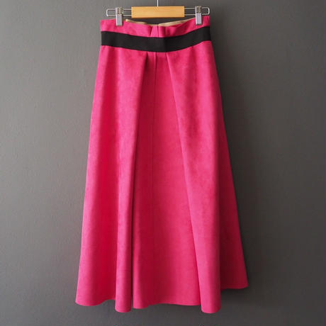 bi-color skirt PINK