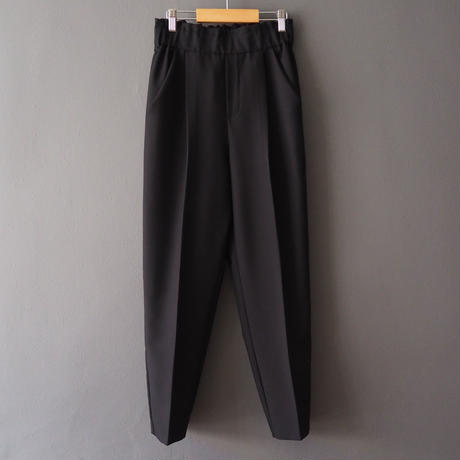 high-waisted  pants BLACK
