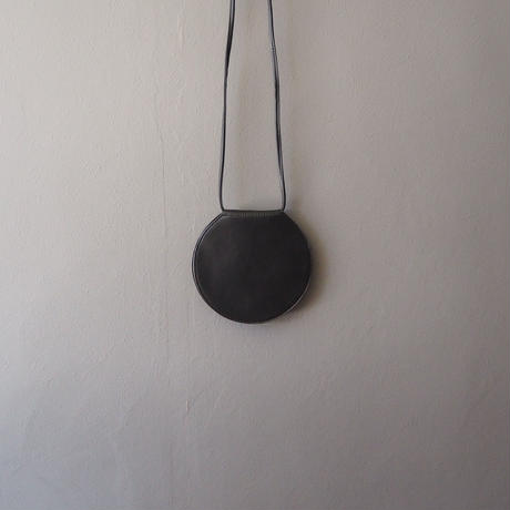 circle shoulder bag BLACK