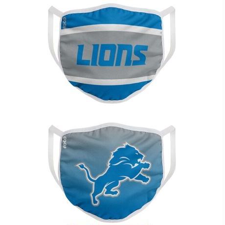 デトロイト・ライオンズ マスク NFL フェイスカバー 2枚入り