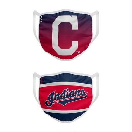 クリーブランド・インディアンス マスク MLB フェイスカバー 2枚入り