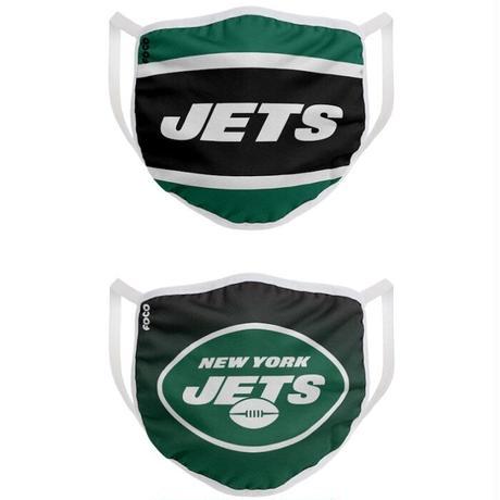 ニューヨーク ・ジェッツ マスク NFL フェイスカバー 2枚入り