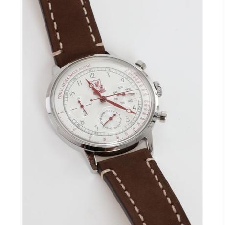リバプール レザーストラップ メンズ腕時計