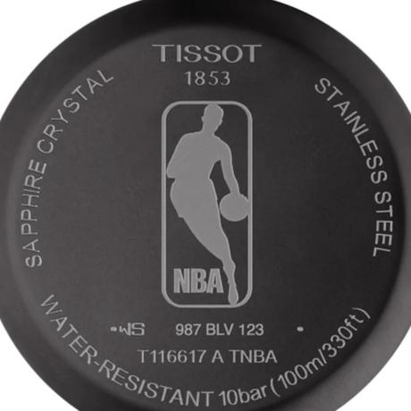 シカゴ・ブルズ  Stainless Steel   クロノグラフ【ブランド:ティソ Tissot 】