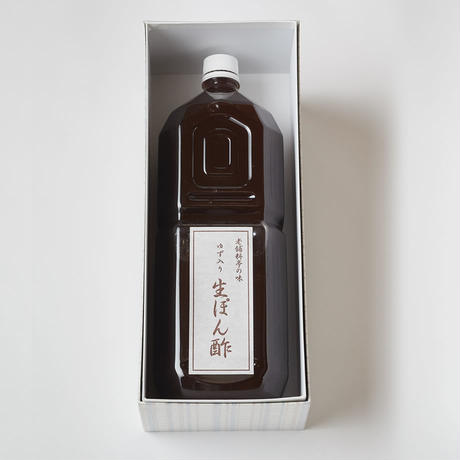 ぽん酢(2ℓ)
