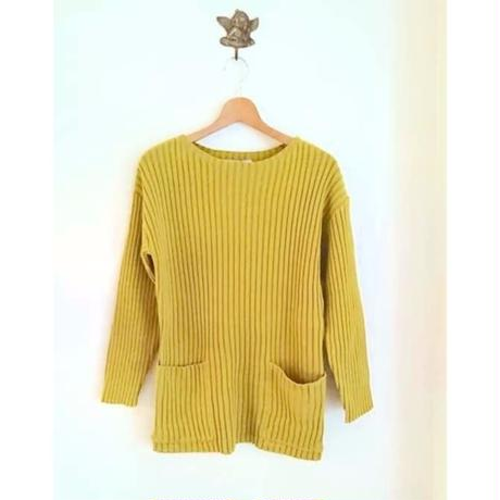 Rib pocket knit